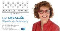 Lise Lavallée, Député de Repentigny